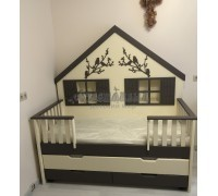 """Кровать домик """"Лесная сказка"""""""