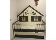 Кровать домик Лесная сказка