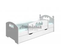 Детская кровать Бэтмен
