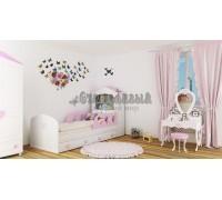 Детская кровать домик «Сердечко»