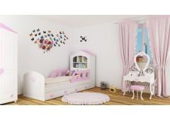 Детская кровать домик Сердечко