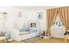 Детская кровать домик Звёзды