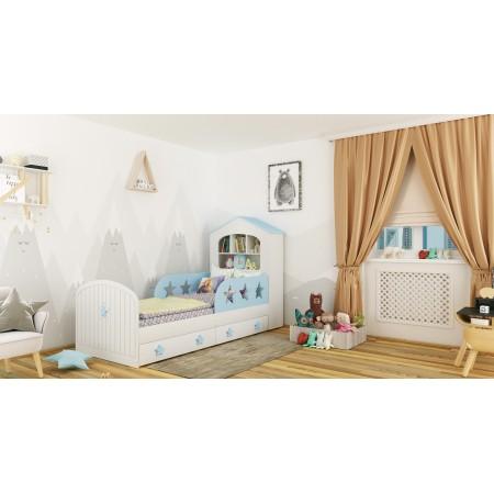 Детская кровать домик «Звёзды» , Bambini Letto