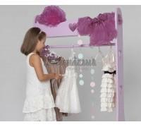Детский напольный гардероб «Сердечки»