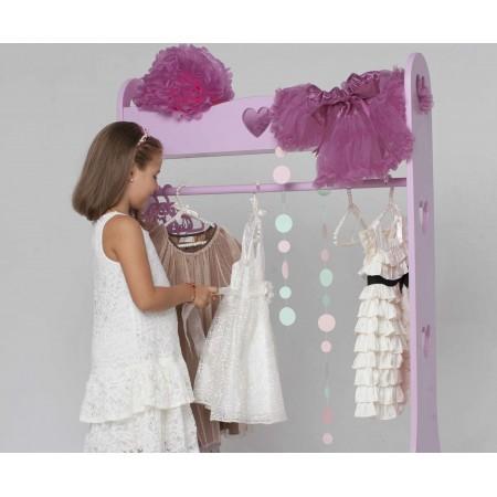 Детский напольный гардероб «Сердечки», Bambini Letto