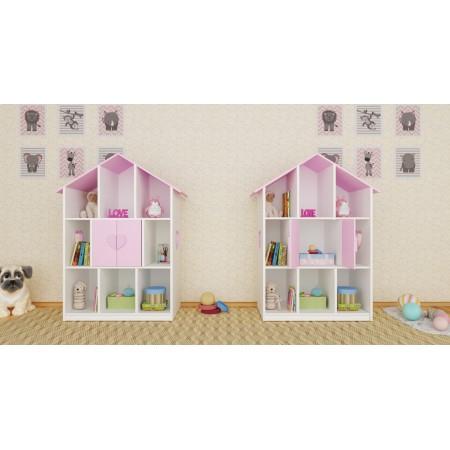 Детский стеллаж домик «Сердечко», Bambini Letto
