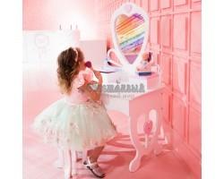Детский туалетный столик «Сердечко»