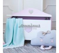 Ящик для игрушек «Сердечко»