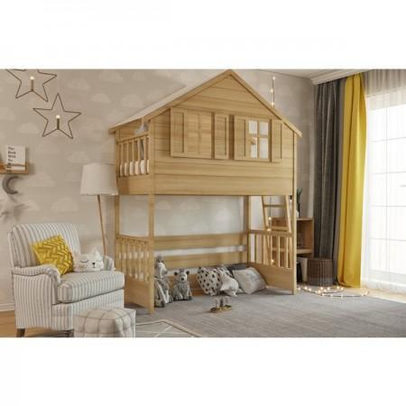 Кровать - домик Сказка чердак, Bambini Letto