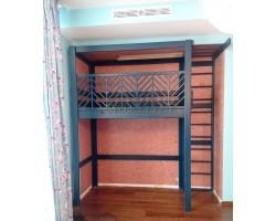 Кровать - чердак со спорткомплексом