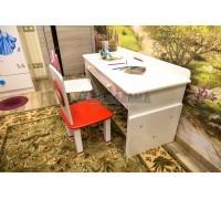 Детский растущий стол и стулья
