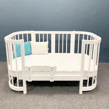 Кроватка для новорожденных Dreams Smart Бук Белая