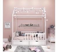 Подростковая кровать - домик Classic бук 160 х 80