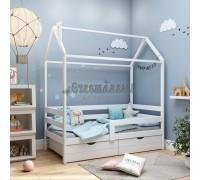 Одноярусная кровать- домик Classic 180 х 90