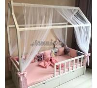 Подростковая кровать - домик Classic бук 180 х 90