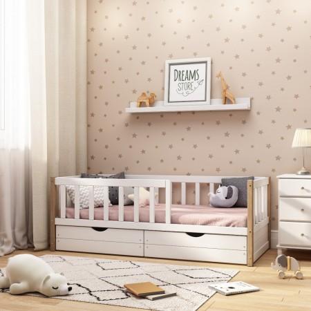 "Кровать подростковая ""Basic"" Бук 180 х 90, Dreams Store"
