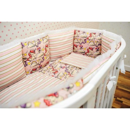 Комплект детского белья Единорожки в розовом, DreamTex