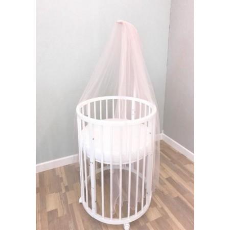 Балдахин для детской кроватки Розовый, DreamTex
