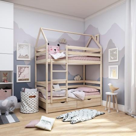 Двухъярусная кровать - домик Classic 160 х 80, Dreams Store