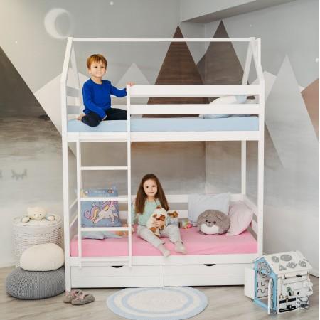 Двухъярусная кровать - домик Classic 180 х 90, Dreams Store