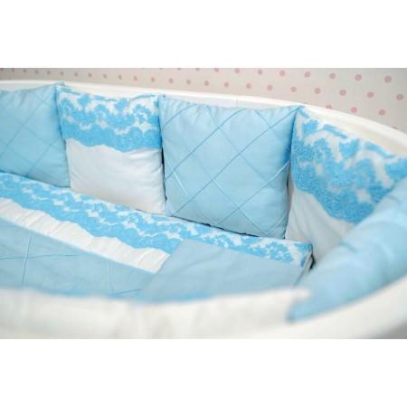 Комплект детского белья Голубое кружево, DreamTex