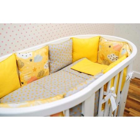 Комплект детского белья Лимонные облачка, DreamTex