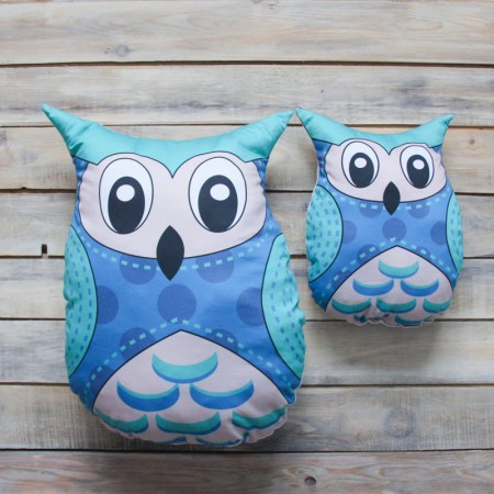 Игрушка-подушка Blue Owl , VamVigvam