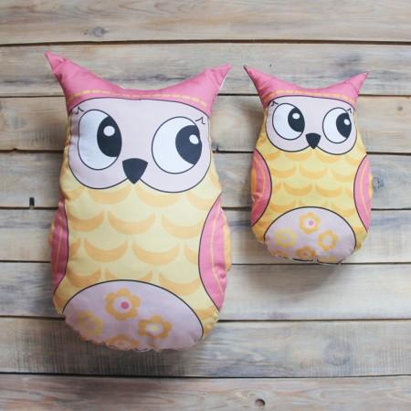 Игрушка-подушка Yellow Owl , VamVigvam