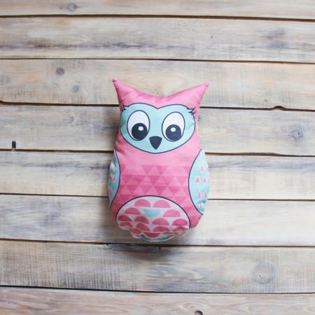 Игрушка-подушка Pink Owl, VamVigvam