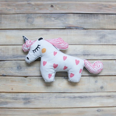 Игрушка-подушка Unicorn Розовая, VamVigvam