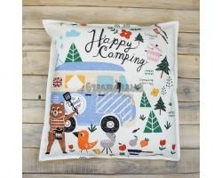 Декоративная подушка Happy Camping