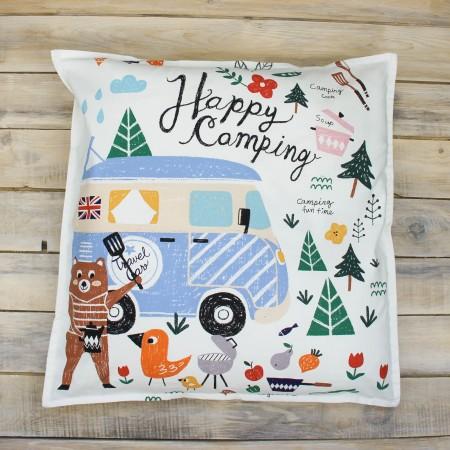 Декоративная подушка Happy Camping, VamVigvam