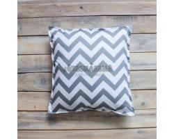 Декоративная подушка Grey Zigzag