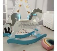 Качалка для малышей Лошадка с гривой