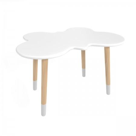 Детский стол бабочка белого цвета с носочками, Лесная Фея
