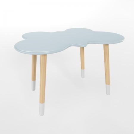 Детский стол бабочка голубого цвета с носочками , Лесная Фея