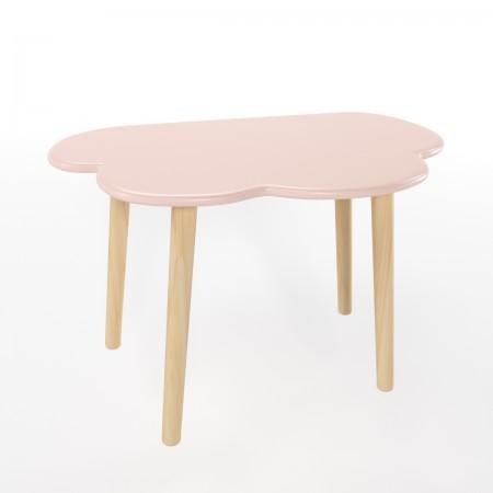 Детский стол облако розового цвета, Лесная Фея