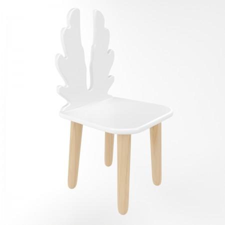 Детский стул крылья белого цвета, Лесная Фея