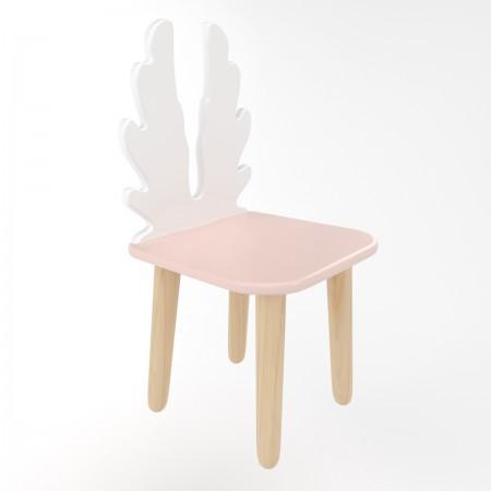 Детский стул крылья розового цвета, Лесная Фея
