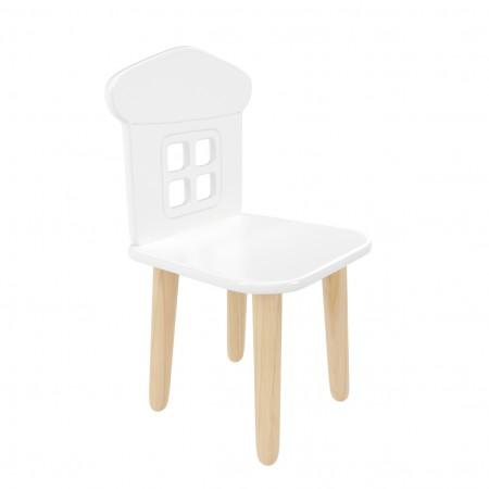 Детский стул Домик белый, Bambini Letto