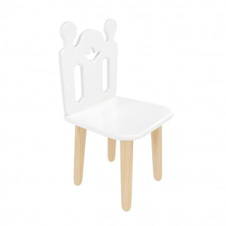 """Детский стул """"Принц Артур"""" белый, Лесная Фея"""