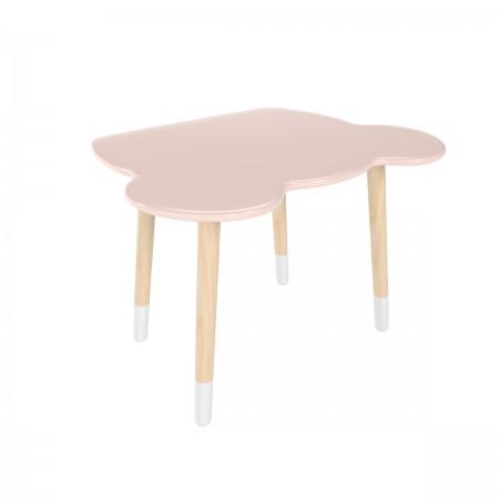 Детский стол мишка розового цвета с носочками, Лесная Фея