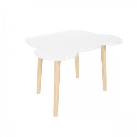 Детский стол мишка белого цвета, Лесная Фея
