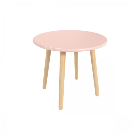 Детский круглый стол розового цвета, Лесная Фея