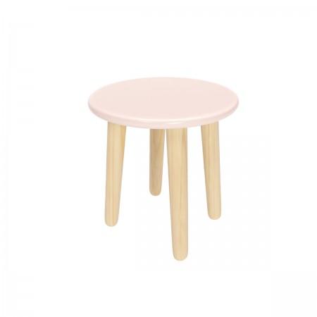 Детский круглый стул розового цвета, Лесная Фея