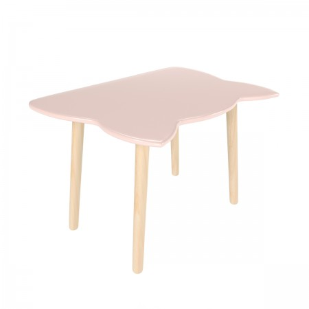 Детский стол котик розового цвета, Лесная Фея