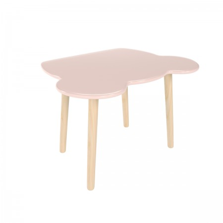 Детский стол мишка розового цвета, Лесная Фея