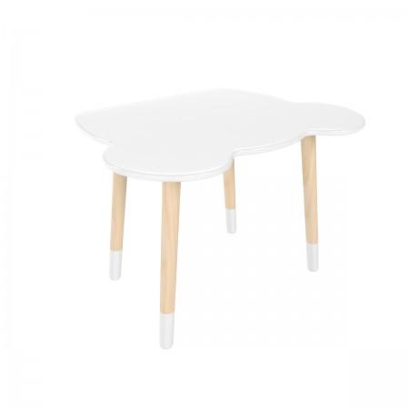 Детский стол мишка белого цвета с носочками, Лесная Фея