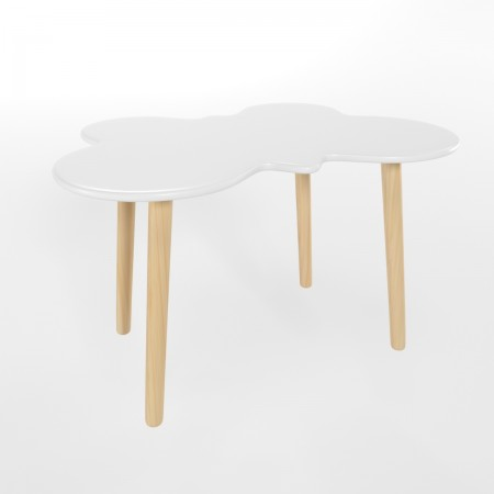 Детский стол бабочка белого цвета, Лесная Фея
