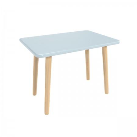 Детский прямоугольный стол голубого цвета, Лесная Фея